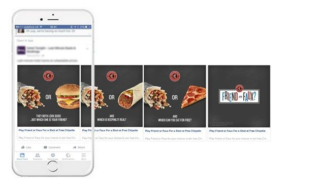 Dynamic Social Ads
